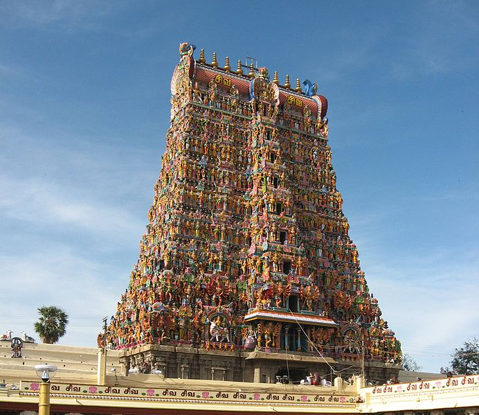 MEENAKSHI TEMPLE architecture