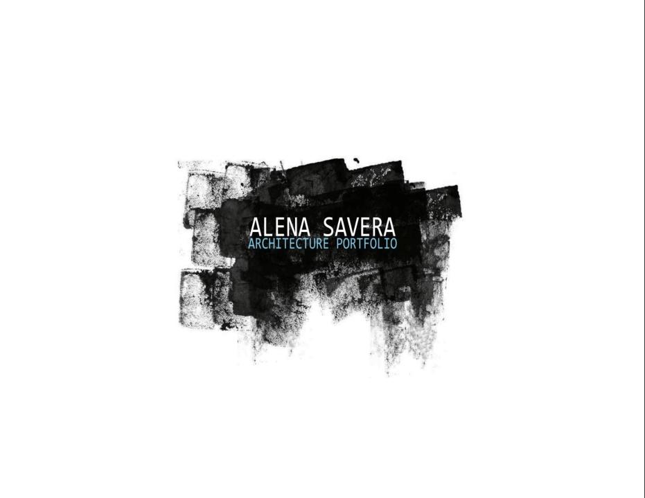 Alena Savera Architecture Portfolio