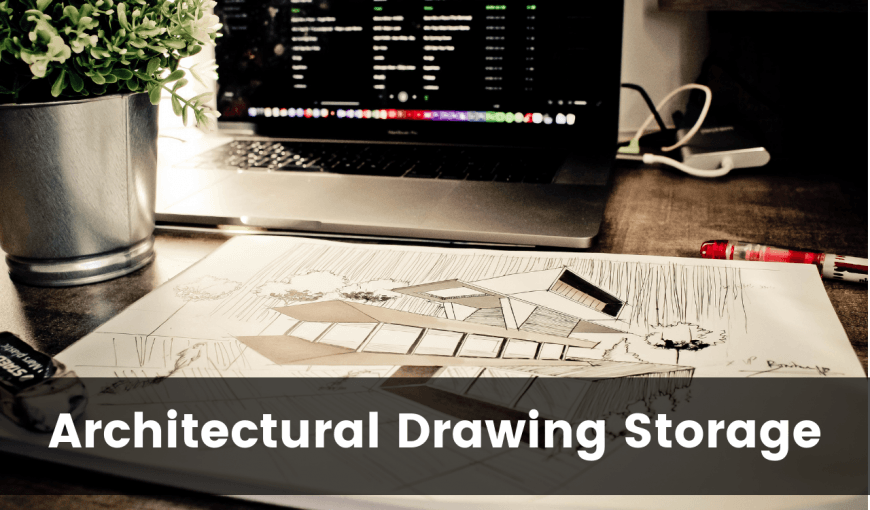 architectural drawing storage