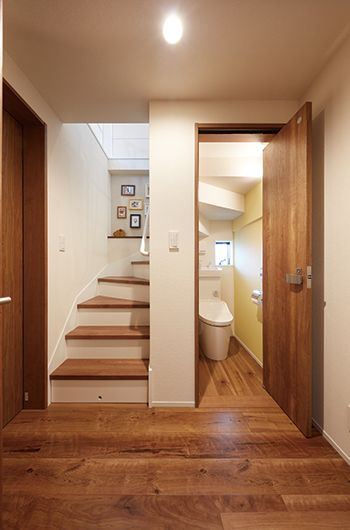 under stairs washroom ideas